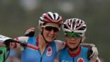 Pendrel et Batty se sont livrées une chaude lutte pour la médaille de bronze (COC Photo/David Jackson).