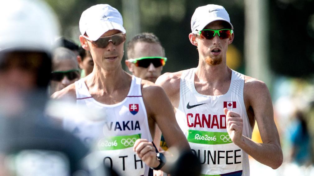Equipe Canada - course - Evan Dunfee - Rio 2016
