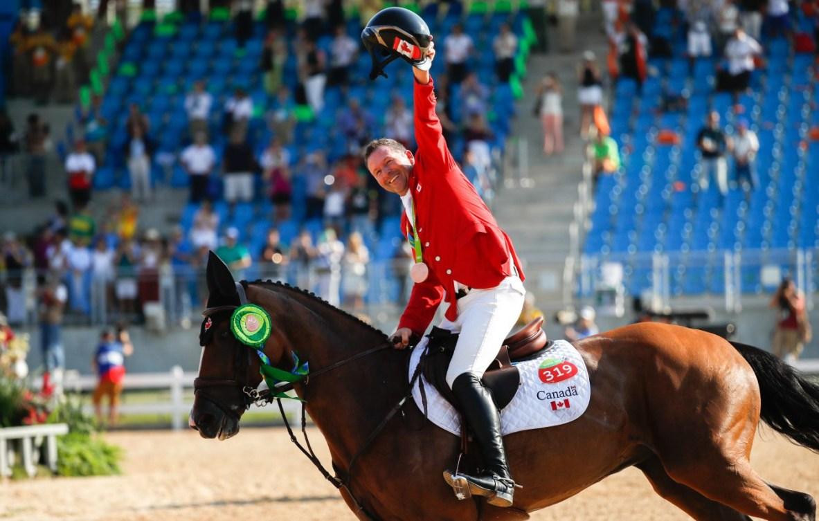 Equipe Canada - sports équestres - Eric Lamaze - Rio 2016