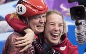 Kim Boutin et Marianne St-Gelais célèbrent à PyeongChang 2018