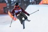 Cassie Sharpe remporte l'or en finale de l'épreuve de la demi-lune en ski acrobatique, aux Jeux olympiques d'hiver de Pyeongchang 2018. (Photo: Vincent Ethier/COC)