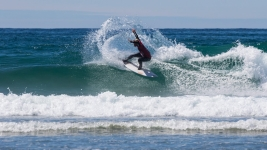 Cody Young lors des Nationaux de Surf Canada en mai 2018. (Photo: Marcus Paladino)