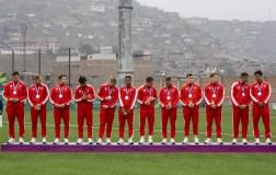 Équipe Canada sur le podium après avoir remporté la médaille d'argent en rugby masculin aux Jeux panaméricains de Lima 2019, au Pérou, le 28 juillet 2019. Photo David Jackson/COC