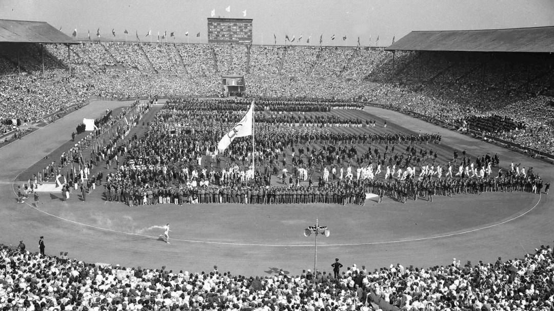 London 1948 stadium