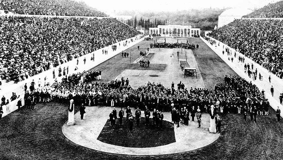 Panathinaikos Stadium in 1896