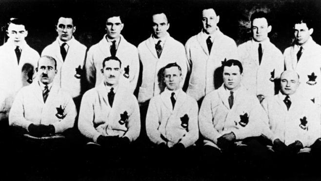1924 Chamonix Mens Hockey Team
