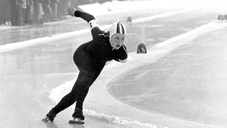 Cathy Priestner speed skating