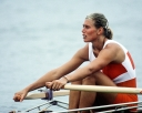 Canada's Silken Laumann competing in the rowing event at the 1988 Olympic games in Seoul. (CP PHOTO/ COC/ Cromby McNeil)