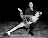Canada's Barbara Wagner and Robert Paul compete in the pairs figure skating event at the Squaw Valley 1960 Olympic Winter Games. (CP Photo/COC)