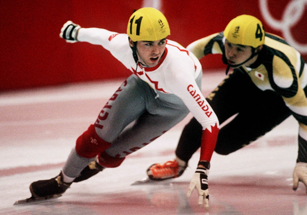 Frederic Blackburn speed skating