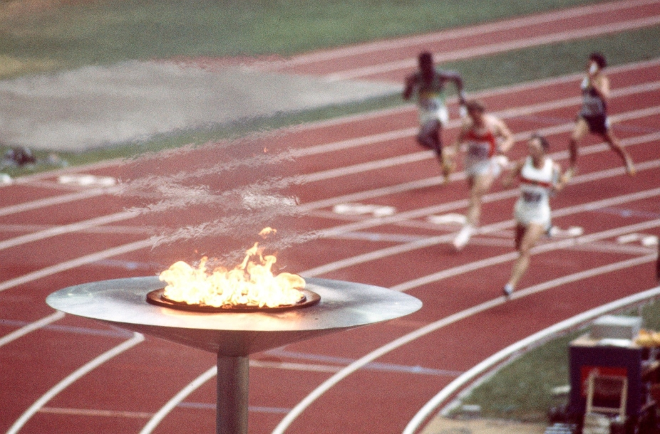 Montreal 1976 torch
