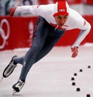 Robert Dubreuil speed skating