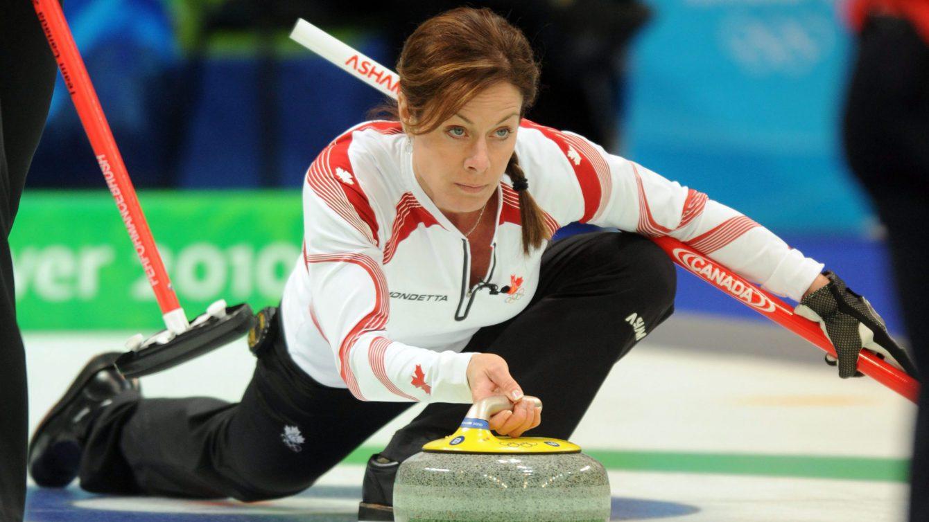 Team Canada Cheryl Bernard