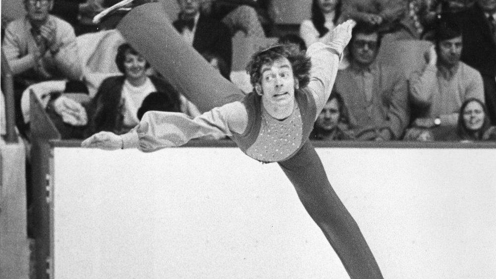 Toller Cranston skating