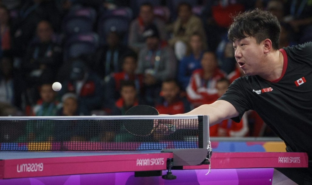 Eugene Wang in action
