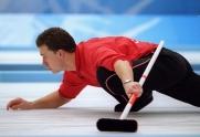 Canada's Collin Mitchell in action at the 1998 Nagano Winter Olympics. (CP PHOTO/COC)