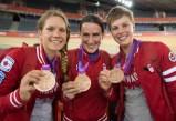 Jasmin Glaesser, Tara Whitten, Gillian Carleton