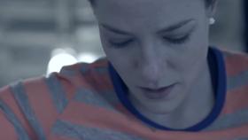 Behind the Scenes: Sarah Reid skeleton push-start