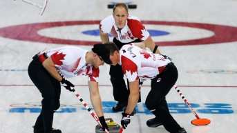 Team Brad Jacobs at Sochi 2014