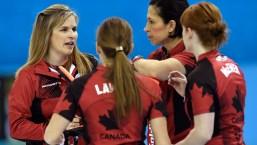 Team Jennifer Jones Sochi 2014