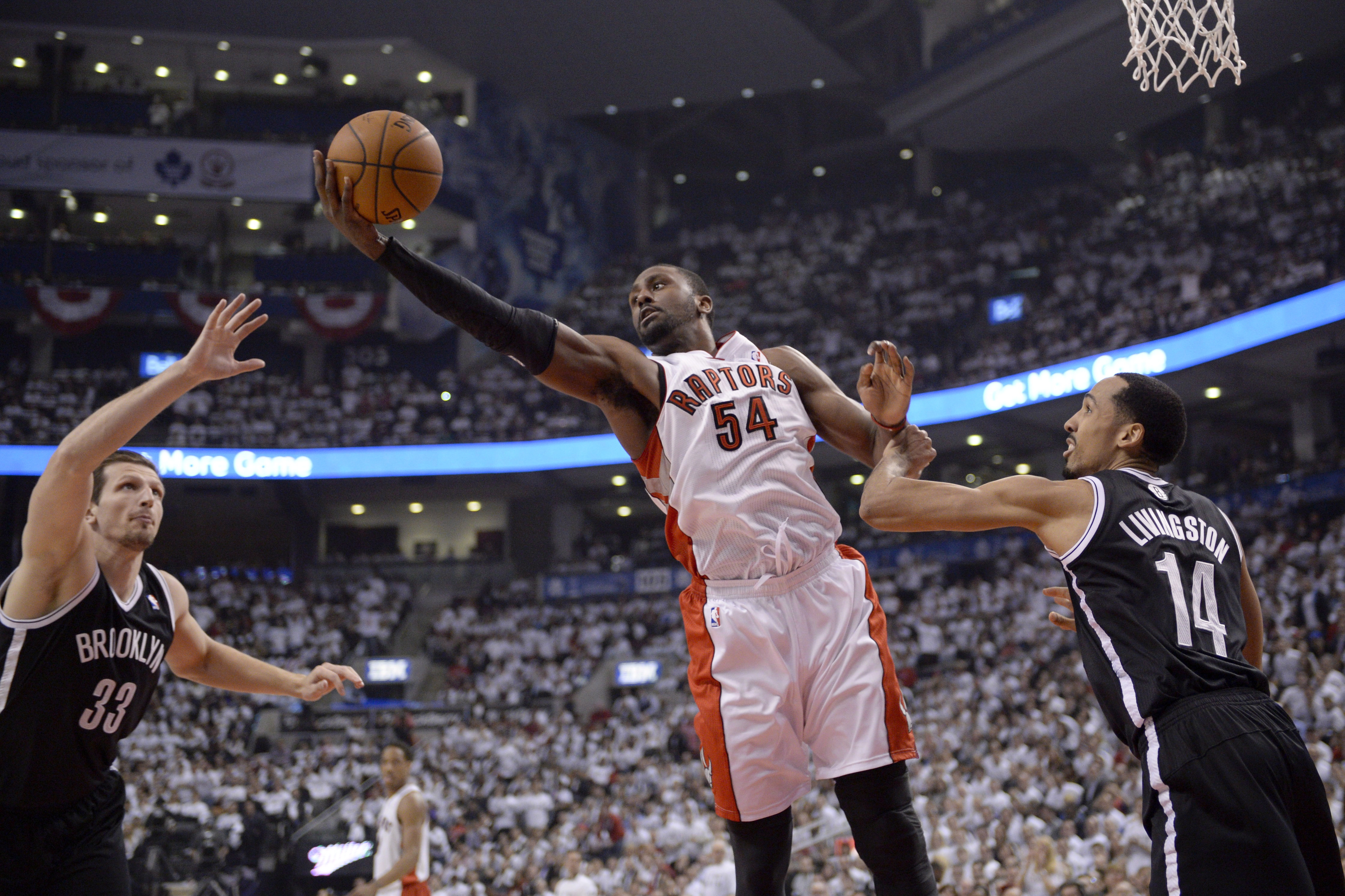 BKN Nets Raptors Basketball