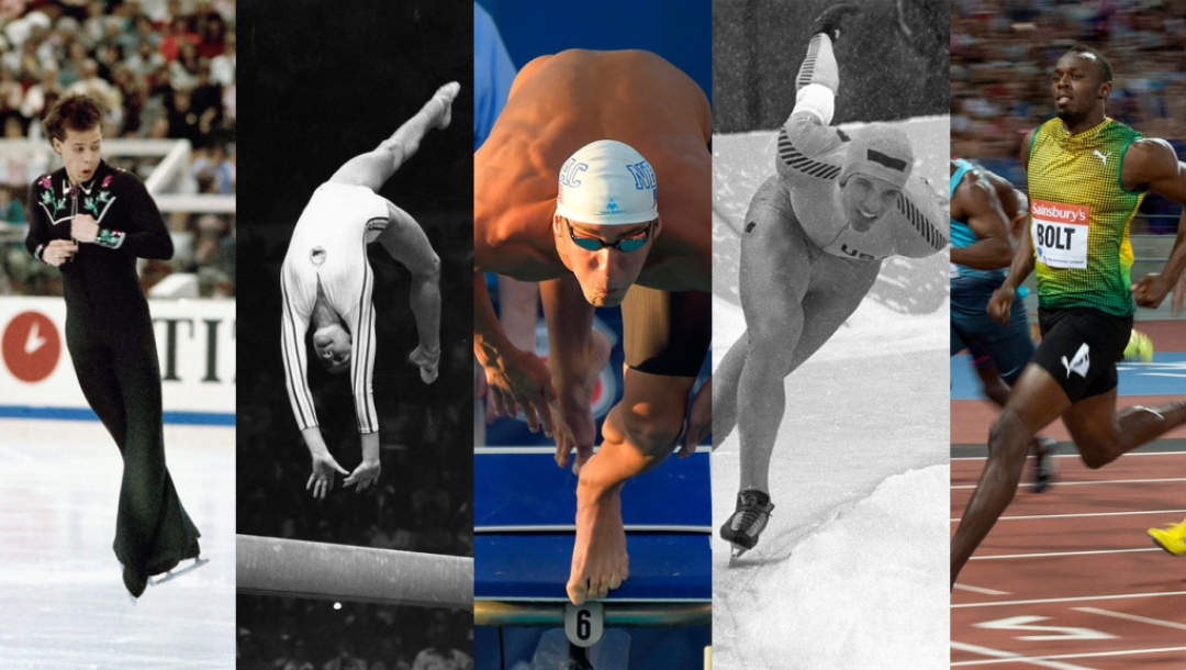 Top 10 all-time individual sport feats