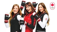 Justine, Maxime, and Chloé Dufour-Lapointe