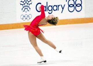 Elizabeth Manley won the silver medal in women's figure skating at Calgary 1988.