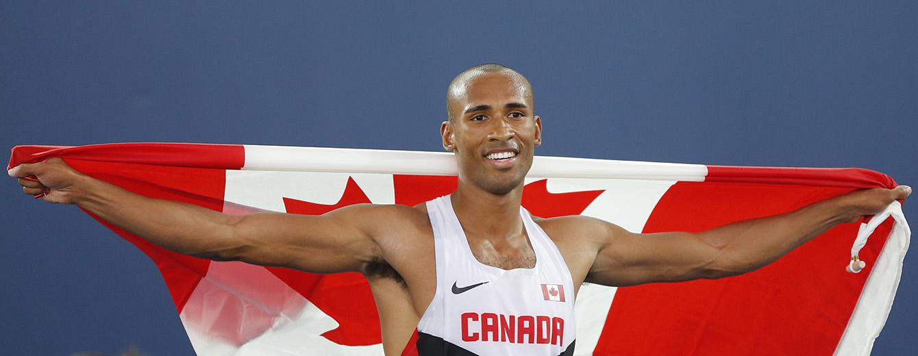 Warner won the decathlon at last summer's Commonwealth Games in Glasgow, Scotland.
