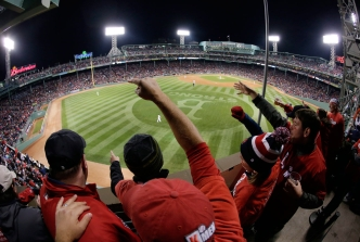 Fenway Park during the 2013 World Series. Photo: CP