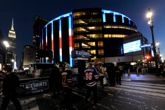 Madison Square Garden. Photo: CP