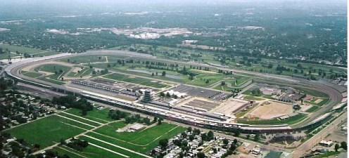 Indianapolis Motor Speedway. Photo: bit.ly/1qnXnmu