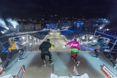 These skaters race out of the gates at the 2015 stop in Saint Paul, Minnesota. (Photo: Ryan Taylor/Red Bull Content Pool)