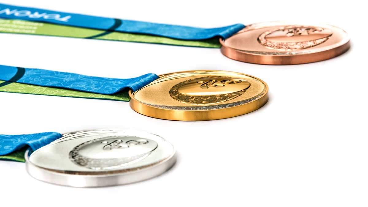 Toronto 2015 Pan Am Games medals.
