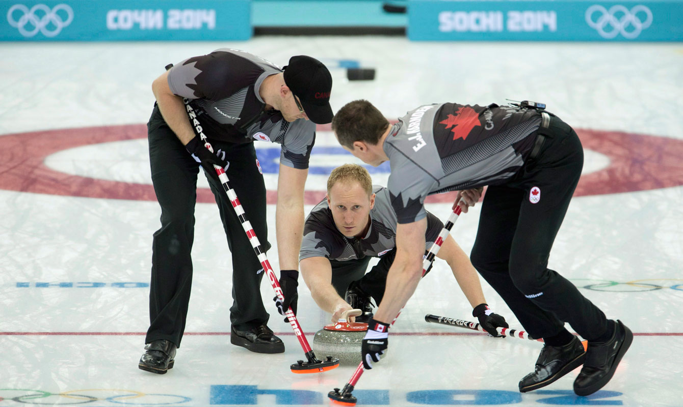 End of Olympic curling? World granite shortage reported on April 1, 2015.