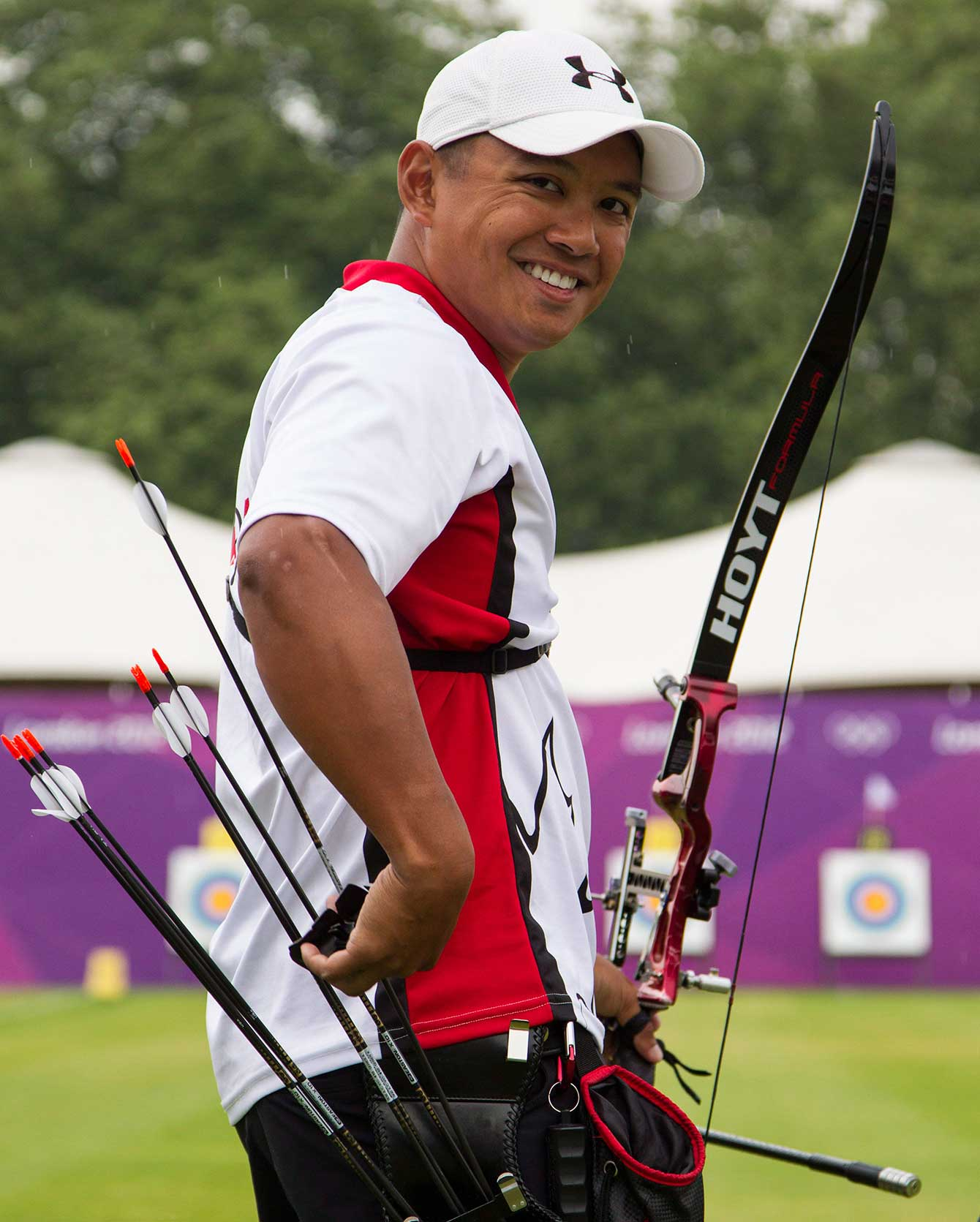 Crispin Duenas at London 2012, his second Olympic Games.