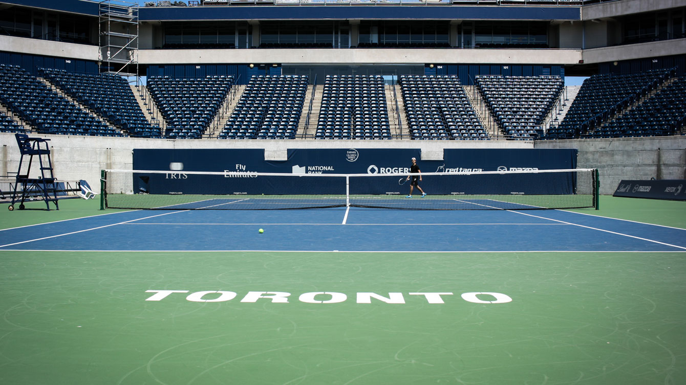 Canadian Tennis Centre (Photo: Alexa Fernando).