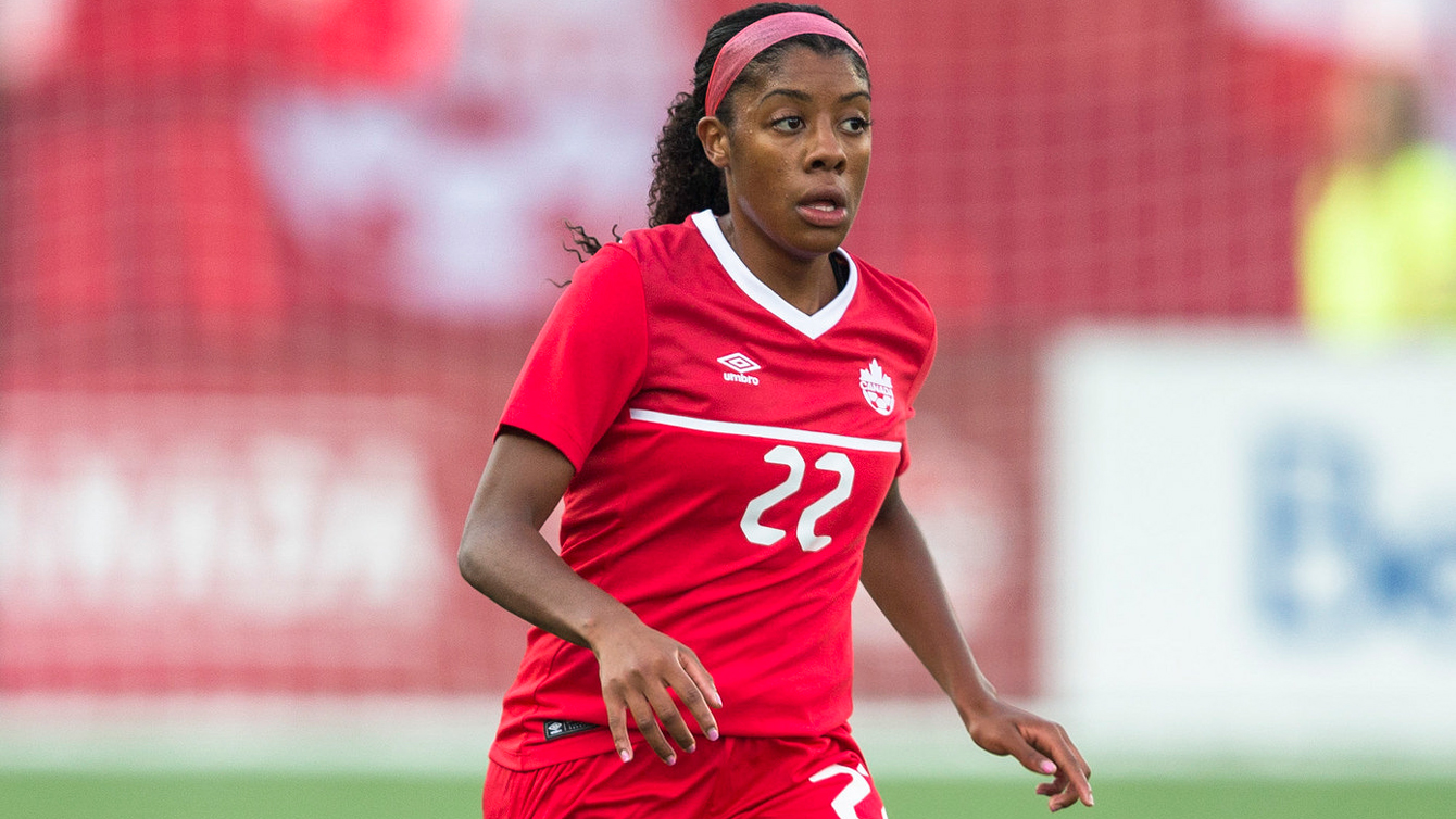 Ashley Lawrence is one of the three teenagers on John Herdman's Canada 2015 Women's World Cup squad (Photo: Canada Soccer/By Paul Giamou)