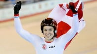 Monique Sullivan - Pan Am record - track cycling, women's sprint