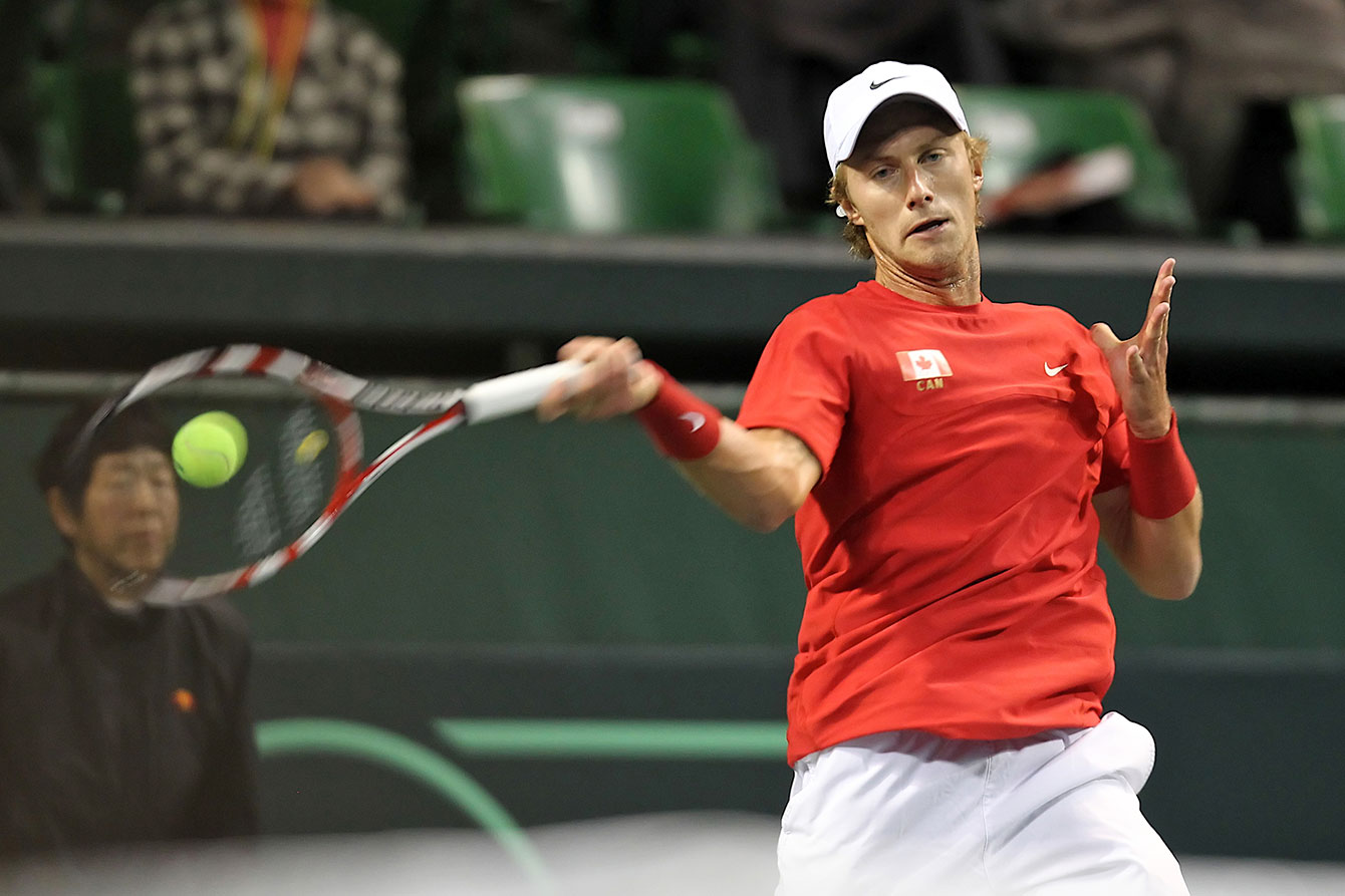 Peter Polansky is one of three Canadian men entered at TO2015.