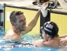 Ryan Cochrane smiles after winning Pan Am gold in the 1500m freestyle.