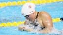 Kierra Smith in the pool
