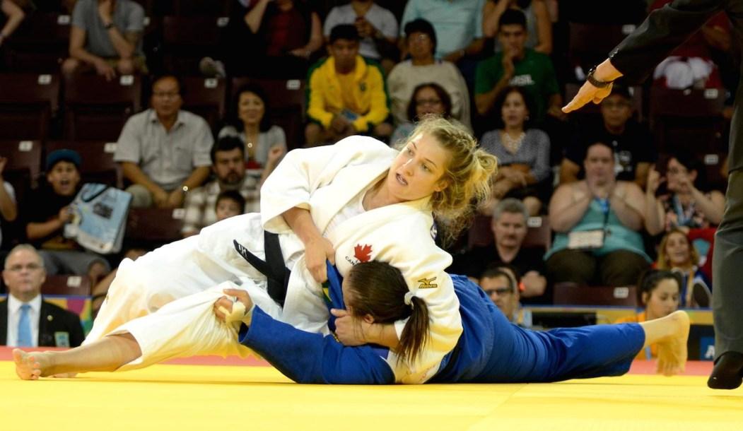 Kelita Zupancic beat the defending women's 70kg Pan Am Games champion