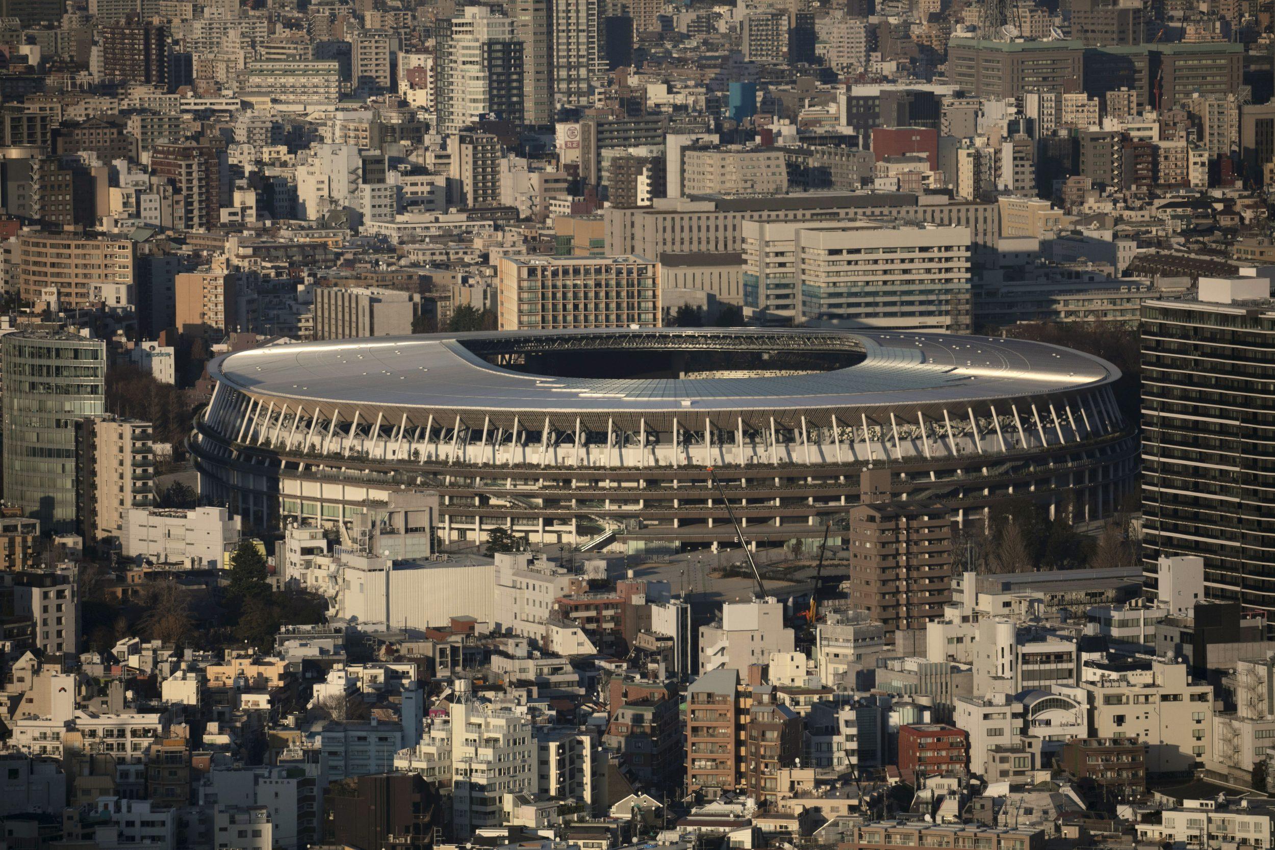 Scenic of Tokyo Olympic Stadium