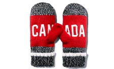 2016 Hudson's Bay Red Mittens (Adult size).