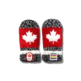 2016 Hudson's Bay Red Mittens (Infant size).