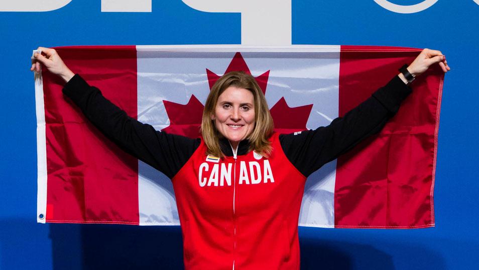 Team Canada - Hayley Wickenheiser at Sochi 2014.