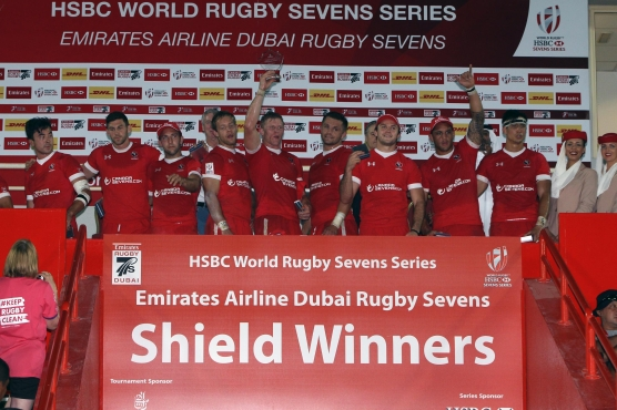 Canada beat Japan to lift the Shield in Dubai. (Photo: World Rugby)