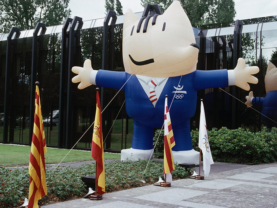 Barcelona 1992 Mascot