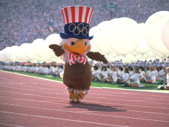 Sam, the mascot for Los Angeles 1984. (Photo: IOC)